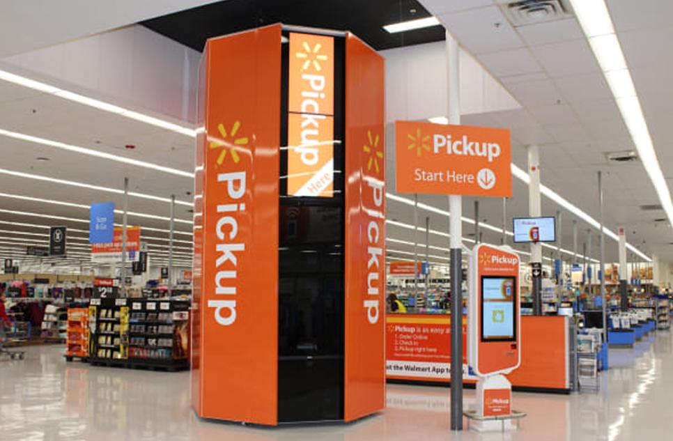 Walmart Pickup Zone