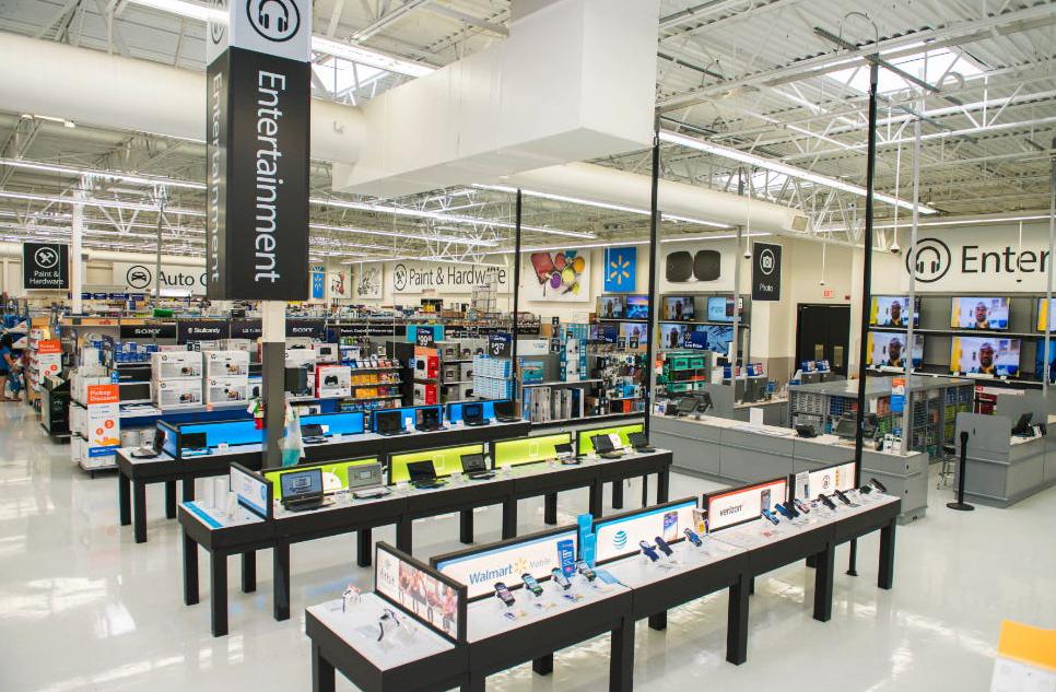 Walmart Entertainment Department